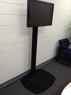 Pole Sleeve for Dual-Pole Floor Stands