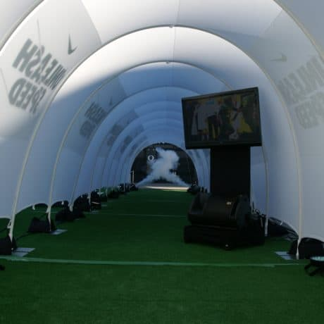Tension Fabric Tunnel - 7 Day Rental