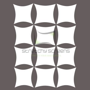 Spandex Panel Wall - Square Tiles