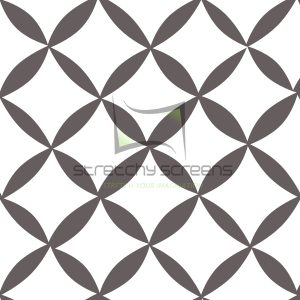 Spandex Panel Wall - Diamond Tiles