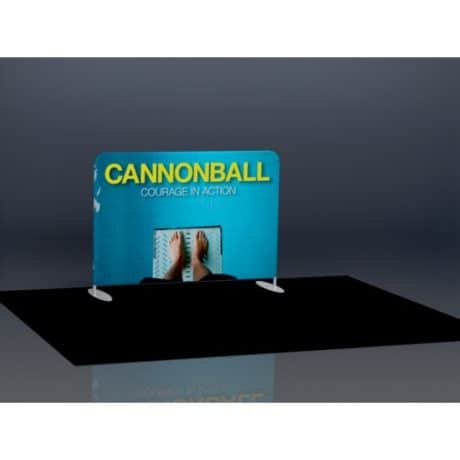 10x8 Ft Trade Show Display - Tension Fabric