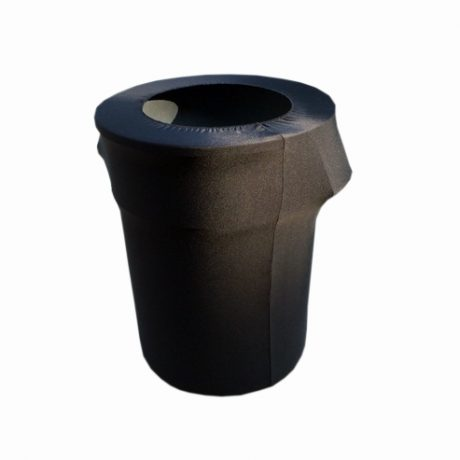 Trash Can Cover - Spandex 55 Gallon Garbage Can Cover