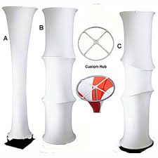 Spandex Column - Free Standing - Type A