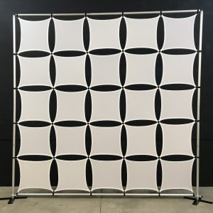 10x10 Ft Square Panel Wall - With Frame