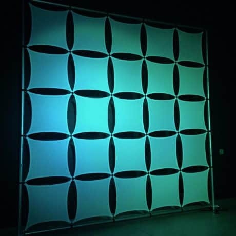 square stretch wall panels